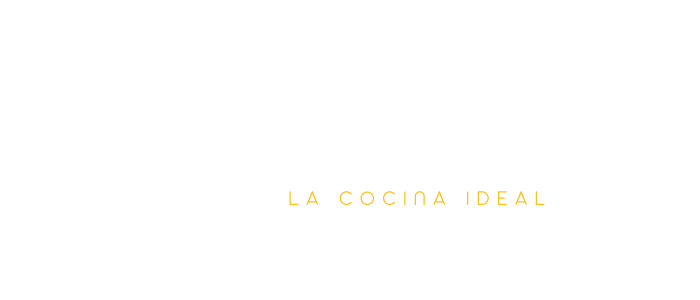 the ideal kitchen - la cocina ideal logo white image